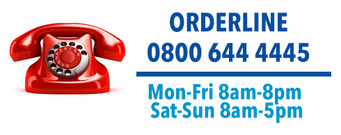ORDERLINE 0800 644 4445